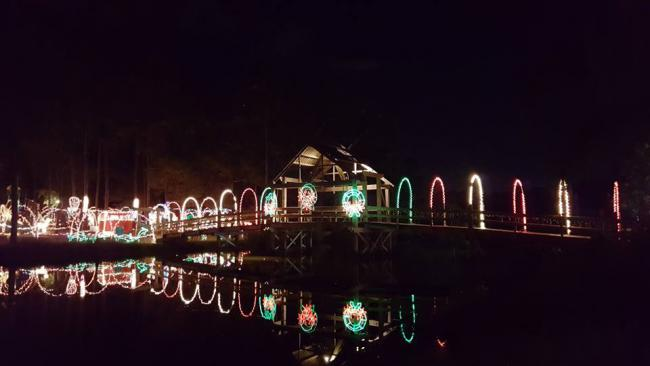 The Dickinson Festival Of Lights Began As An Idea Between Two Neighbors,  John Montgomery And Robert Morgan In 1998. Shortly After The Idea Was  Formed, ...