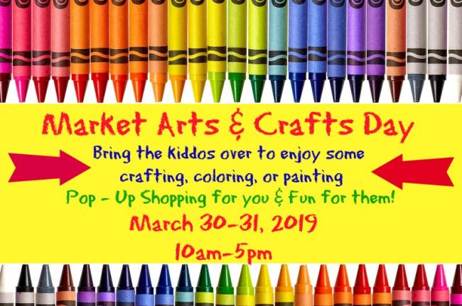 Market Arts & Crafts Day | Kids Out and About Houston